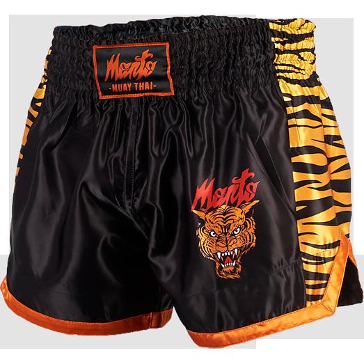 Шорты для тайского бокса Manto Tiger MantoШорты для тайского бокса/кикбоксинга<br>Шорты для тайского бокса Manto Tiger. Широкий эластичный пояс гарантирует комфорт и надежную фиксацию на поясе. Состав: 100% полиэстер.<br><br>Размер INT: XL
