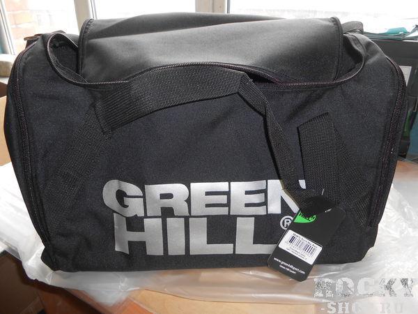 Сумка малая Green Hill sb-6474, S Green HillСпортивные сумки и рюкзаки<br>Спортивная сумка GREEN HILL выполнена из комбинации полиэстера и нейлона, представляющих собой прочный, долговечный водоотталкивающий материал. Сумка имеет ручку для переноски в руке и плечевой ремень. Размер сумки 42,5см*30см*30см.<br>