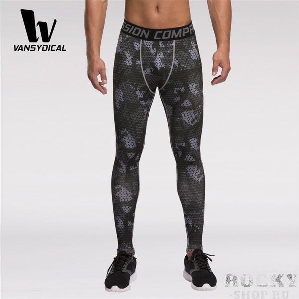 Купить Компрессионные штаны Vansydical камуфляжные (арт. 16352)