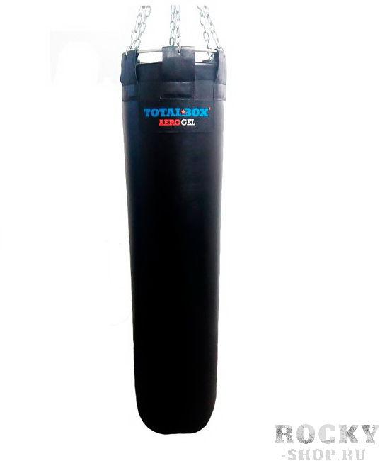 Гелевый боксерский мешок TOTALBOX серии AEROGEL, 50 кг, 35*150 см AquaboxСнаряды для бокса<br>150 см длина35 см диаметр50 кг веснатуральная кожапневмоподкачка жесткости<br>Боксерский мешок профессиональный гелевый кожаный SMK TGL. <br><br>Эксклюзивный боксерский мешок «TOTALBOX AEROGEL» с гелевым наполнителем и возможностью регулировки жесткости. Специально подобранные консистенции композитного наполнителя вместе с регулируемой пневмоподкачкой дают снаряду уникальные характеристики по эластичности и степени поглощения ударной нагрузки. <br><br>ИНСТРУКЦИЯ ПО ЭКСПЛУАТАЦИИ. Снаряд тренировочный предназначен для отработки ударов спортсменами занимающимися различными видами единоборств, бокса и фитнеса. <br><br>Состоит из пяти основных частей: 1. Внешняя оболочка из натуральной кожи или ткани-ПВХ; 2. Внутренняя оболочка из армированной ткани; 3. Промежуточный слой из поролона; 4. Системы подвески; 5. Пневмоклапана. <br><br>Внутренняя оболочка изделия заполнена специальной воздушно-гелевой смесью и закрыта пневмоклапаном. <br><br>Снаряд полностью готов к использованию. <br><br>При недостаточной жесткости поверхности снаряда вы можете подкачать (или спустить) часть воздуха через обычный автомобильный насос. <br><br>ВНИМАНИЕ: во избежание нарушения целостности изделия не пытайтесь самостоятельно выкручивать клапан!!!<br>
