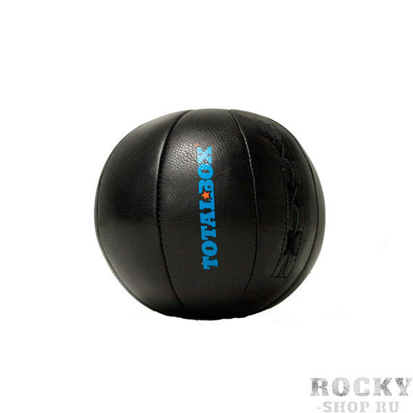 Медицинбол TOTALBOX 4 кг AquaboxМедицинболы<br>Вес 4 кгЦвет ЧерныйНаполнитель Пенорезиновые гранулы/текстильное волокноСерия PROFFIМатериал Натуральная кожа (KRS)<br>