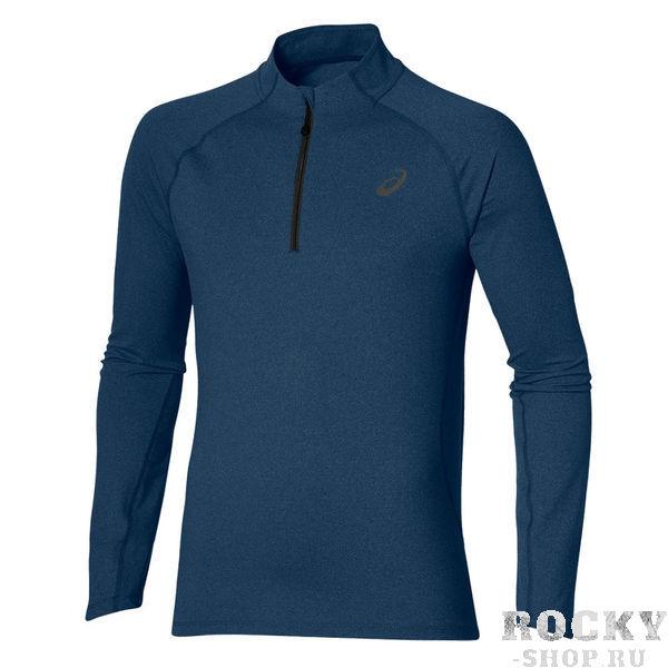Беговая рубашка ASICS 132106 8151 LS 1/2 ZIP JERSEY  AsicsТолстовки / Олимпийки<br>Беговая рубашка ASICS 132106 8151 LS 1/2 ZIP JERSEY•Воздухопроницаемая беговая рубашка защитит вас от холода и не стеснит ваши движения во время занятия спортом. •Мягкий материал, в состав которго входит полиэстер и эластан, благодаря технологии Motion Dry позволяет удалять лишнюю влагу с кожи, обеспечивая тем самым комфортные ощущения. •Задний карман на молнии удобен для хранения необходимой повседневной мелочи. •Светоотражающие элементы для повышения уровня безопасности передвижения в темное время суток.<br><br>Размер INT: M