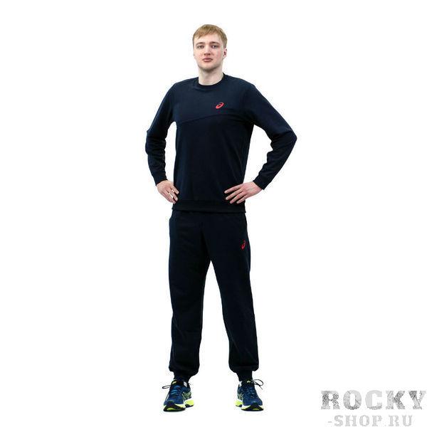 Спортивный костюм ASICS 142895 0891 SWEATER SUIT  AsicsСпортивные костюмы<br>Спортивный костюм ASICS 142895 0891 SWEATER SUIT•Стильный спортивный костюм из толстовочного трикотажа подойдет как дя тренировок, так и для повседневной носки. •Воздухопроницаемый мягкий материал отводит влагу с поверхности кожи, создавая оптимальный микроклимат и комфортные ощущения. •Модель приталенного силуэта выгодно подчеркнет вашу фигуру. •Низ толстовки и манжеты имеют трикотажную резинку для идеального облегания и комфортной носки.<br><br>Размер INT: XL