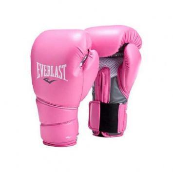 Купить Перчатки боксерские тренировочные Everlast Protex2, Pink 10 oz (арт. 1664)