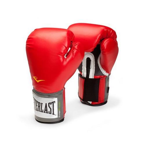 Перчатки боксерские Everlast PU Pro, 14 OZ EverlastБоксерские перчатки<br>Высококачественная искусственная кожа совместно с оптимальным дизайном обеспечивают износостойкость и функциональность перчаток. Мелкая перфорация по всей ладони позволяет коже дышать. Антибактериальная пропитка убивает нехороший запах и бактерии. Превосходно облегают кисть, следуя всем анатомическим изгибам ладони и предплечья. Отличный вариант для начинающих спортсменов!<br><br>Цвет: Красный