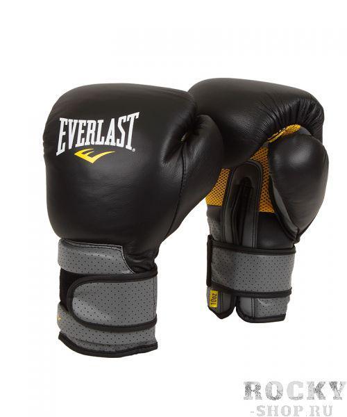 Перчатки боксерские Everlast Pro Leather Strap, на липучке, 20 OZ, Черный EverlastБоксерские перчатки<br>Everlast C3 Pro Hook &amp; Loop Training Gloves - тренировочные боксерские перчатки, разработанные и произведенные с применением современных технологий. Уникальный пенистый наполнитель C3 Foam™ супер смягчает даже самые тяжелые удары, обеспечивая безопасность во в ходе занятий спортом. Материал-сетка на ладони вкупе с технологией EverCool™ обеспечивают отличную циркуляцию воздуха и позволяют руке дышать. В то же в ходе, спецтехнология EverDri™ энергично сражается с потом, уничтожая излишки воды и плохой запах. Перчатки сделаны из первоклассной 100% кожи, что дает им солидный запас долговечности и отличную износостойкость, а застежка-липучка позволяет кастомизировать их точно по руке, плотно зафиксировав запястье. Тренировочные боксерские перчатки C3 Pro Hook &amp; Loop Training Gloves предназначены для поединков, проработки с тяжелыми мешками и лапами.<br>