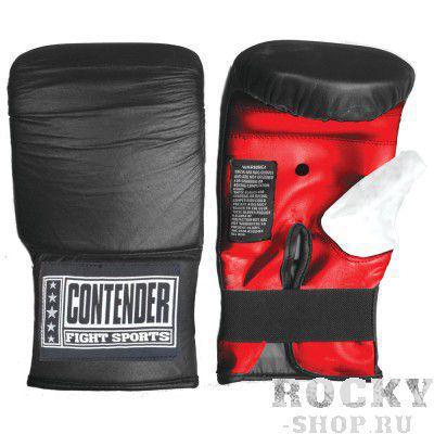 Перчатки снарядные, резинка Contender черный/красный/белый (арт. 1707)  - купить со скидкой