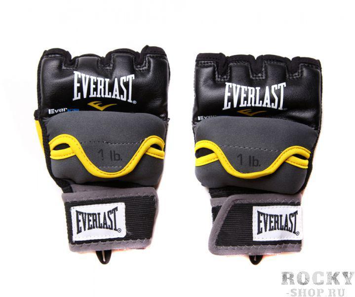 Купить Перчатки боксерские Everlast гелевые с утяж. (1кг) sm (арт. 1712)