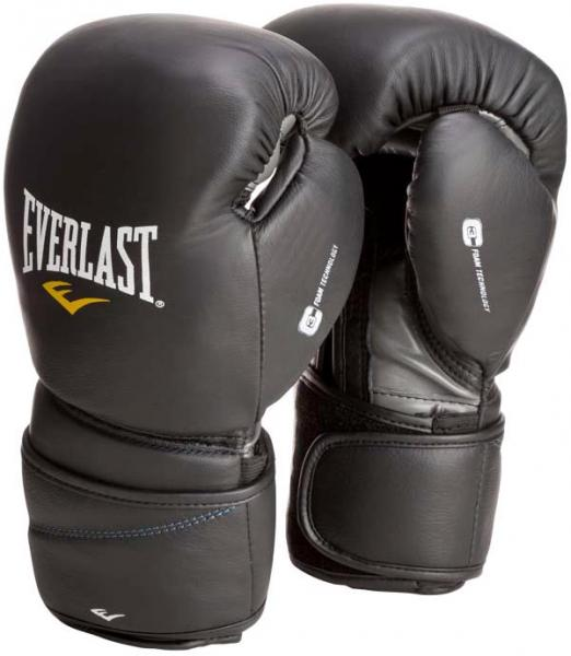 Купить Перчатки боксерские Everlast Protex2 Leather 14 oz (арт. 1721)