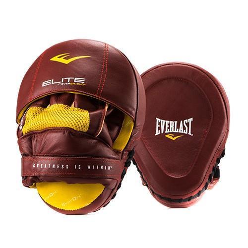 Боксерские лапы Everlast Elite, Красные Everlast (P00000700 RD)