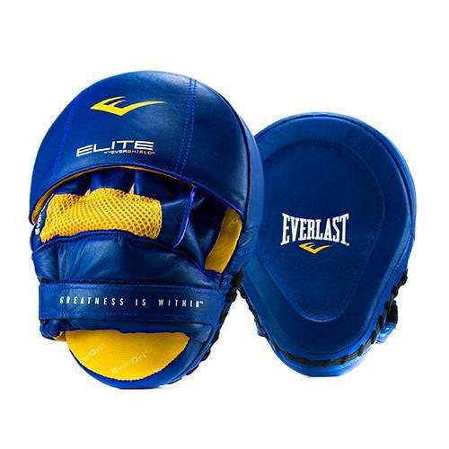 Боксерские лапы Everlast Elite, Синие Everlast (P00000700 BL)