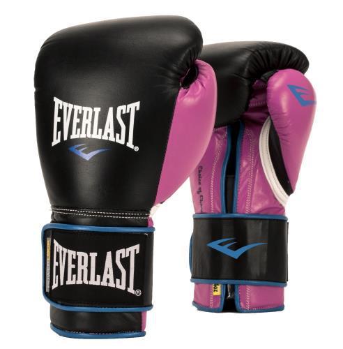 Женские боксерские перчатки Everlast Powerlock, 12 OZ EverlastБоксерские перчатки<br>Эти боксерские перчатки Everlast были специально разработаны для руки спортсмена женского пола. Разработаны с нуля, с современной, анатомической конструкцией из пены, чтобы обеспечить женщинам оптимальную подгонку, комфорт и баланс. Компактная конструкция обеспечивает превосходное закрытие кулака для дополнительной защиты. Сделаны из высококачественной синтетической кожи, которая идеально подходит для работы на боксерских мешках и грушах.<br><br>Цвет: черный/розовый