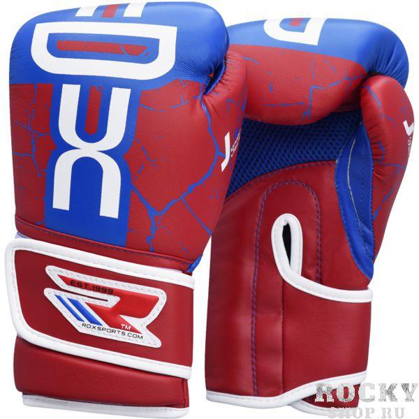 Купить Детские боксерские перчатки RDX BLUE/RED 6 oz (арт. 17304)