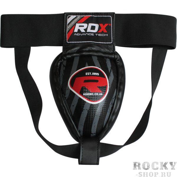 Защита паха RDX RDXЗащита тела<br>Защита паха RDX с металлической чашей. Очень легко надевается. Удерживается на поясе благодаря резиновым пояскам. Внешняя обивка чаши - кожа. На краях чаши располагается амортизирующая накладка. Чаша обеспечивает достаточный уровень защиты наружных половых органов. Подходит для различных видов единоборств, как для борьба, так и ударной техники. ВНИМАНИЕ: пояс защиты ОЧЕНЬ сильно маломерит. Так что рекомендуется брать на 2 размера больше, то есть - если Вы как правило носите М, то размер XL как раз должен вам подойти.<br>
