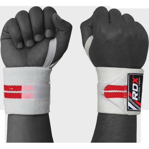 Суппорт кисти RDX RDXБинты и лямки<br>Суппорт кисти руки RDX. Бинты для фиксаций запястей RDX предохраняют запястья от травм. Для удобства крепления на бинтах присутствует липучка и петля на большой палец. Цена указана за пару.<br>