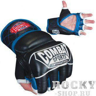 Перчатки ММА, липучка, Чёрный/синий CombatПерчатки MMA<br>&amp;lt;p&amp;gt;Преимущества:&amp;lt;/p&amp;gt;    &amp;lt;li&amp;gt;Обеспечивают максимальный уровень удобства и безопасности, а также обладают превосходными ударными качествами.&amp;lt;/li&amp;gt;<br>    &amp;lt;li&amp;gt;Набивка тренировочных перчаток 3 слоя формованной пены наивысшей плотности с интегрированным гелем по всей плоскости.&amp;lt;/li&amp;gt;<br>    &amp;lt;li&amp;gt;Фиксация с помощью манжеты TRI-WRAP может быть адаптирована под узкое запястье.&amp;lt;/li&amp;gt;<br>    &amp;lt;li&amp;gt;Материал подстежки dopling гарантирует терморегуляцию и вывод воды.&amp;lt;/li&amp;gt;<br>