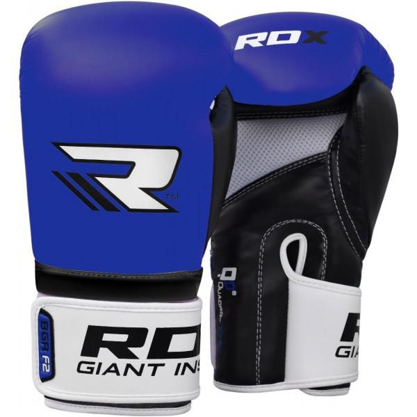 Купить Перчатки боксерские RDX Rex Blue 12 унций (арт. 17413)