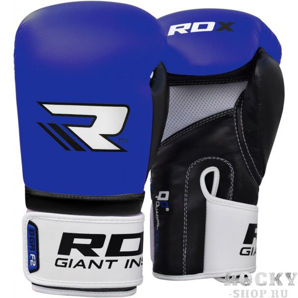 Купить Перчатки боксерские RDX Rex Blue 14 унций (арт. 17414)