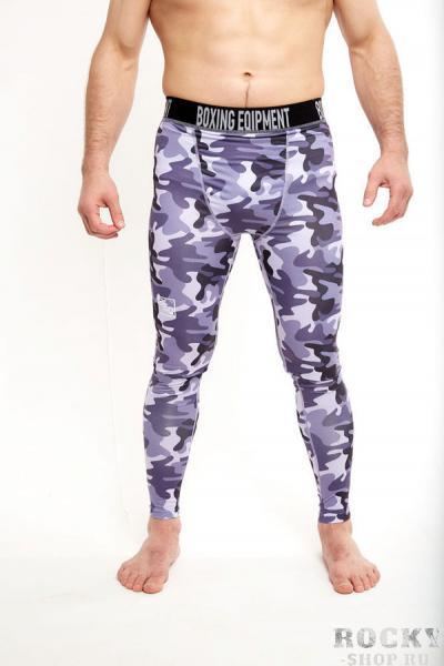 Штаны компрессионные BEQ камуфляж , серые BEQКомпрессионные штаны / шорты<br>Комфортные компрессионные штаны для занятий любым видом спорта<br><br>Размер INT: XL