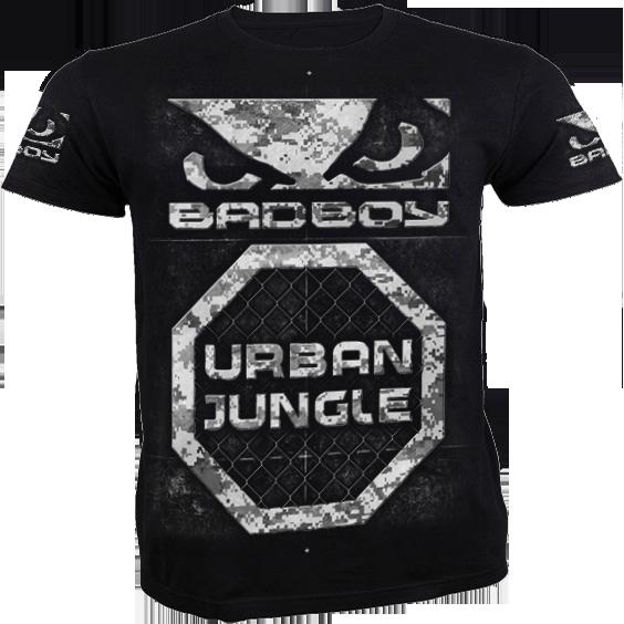 Футболка Bad Boy Urban Jungle Bad BoyФутболки<br>Футболка Bad Boy Urban Jungle. Обладает высокой теплопроводностью, воздухопроницаемостью и гигроскопичностью, что позволяет коже дышать. Модель свободного кроя с короткими рукавами и круглым вырезом горловины. Уход: машинная стирка в холодной воде, деликатный отжим, не отбеливать. Состав: 100% хлопок. Сделано в Бразилии.<br><br>Размер INT: M