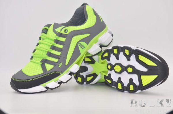 Кроссовки Green Hill A-298M, темно-серые с неоновым желтым Green HillКроссовки<br>Модель изготовлена из качественного материала практичной расцветки. Подходят как для занятий спортом, так и для повседневной носки. Материал: искусственная кожа, синтетическая сетка.<br><br>Размер INT: 44