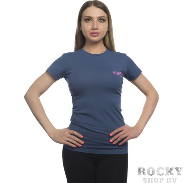 Футболка Aim AimФутболки<br>Женская футболка Aim. Супер качество и крутые дизайны гарантируем! Очень важно, что любая футболка подойдет для занятий спортом, активного отдыха или повседневного ношения! Футболки сделаны по специальному покрою, который был разработан нашими технологами, и будут идеально сидеть на фигуре, подчеркивая ваши достоинства! Стиль, индивидуальность и комфорт! Носите с удовольствием нашу одежду! Уход: машинная стирка в холодной воде, деликатный отжим, не отбеливать. Состав: 100% хлопок.<br><br>Размер INT: XS