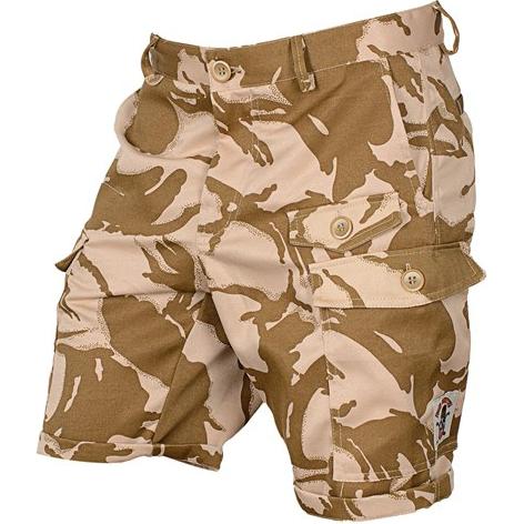 Шорты карго Варгградъ DPM Dezert ВаргградСпортивные штаны и шорты<br>Шорты карго Варгградъ DPM Dezert. На шортах расположено множество карманов. Шнуры-регуляторы вставлены в пояс и нижнюю кромку шорт. Уход: машинная стирка в холодной воде, деликатный отжим, не отбеливать.<br><br>Размер INT: L