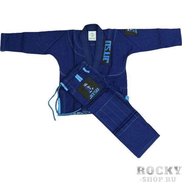 Детское ги для БЖЖ Jitsu Wolf JitsuЭкипировка для Джиу-джитсу<br>Детское ги для БЖЖ Jitsu Wolf. Ги, отвечающее высоким стандартам качества. Кимоно отлично подойдет как для тренировок, так и для соревнований. Особенности кимоно: • Куртка сделана из 1 куска 100% хлопка плотностью 350 г/кв. м. ; • Тип плетения - жемчужный; • Кимоно усажено, но небольшая усадка возможна; • Пояс приобретается отдельно. Состав: 100% хлопок.<br><br>Размер: M0000