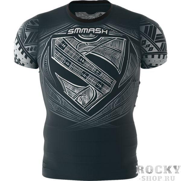 Тренировочная футболка Smmash Maori Smmash FightwearФутболки<br>Тренировочная футболка Smmash Maori. Лёгкая и удобная футболка для тренировок. Особенности кроя и ткани позволяют активно заниматься в майке самыми различными видами спорта. Уход: ручная стирка в холодной воде, не отбеливать. Состав: полиэстер, спандекс.<br><br>Размер INT: XL