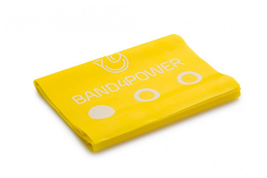 Лента для фитнеса 2.5 метра, легкая нагрузка Band4Power