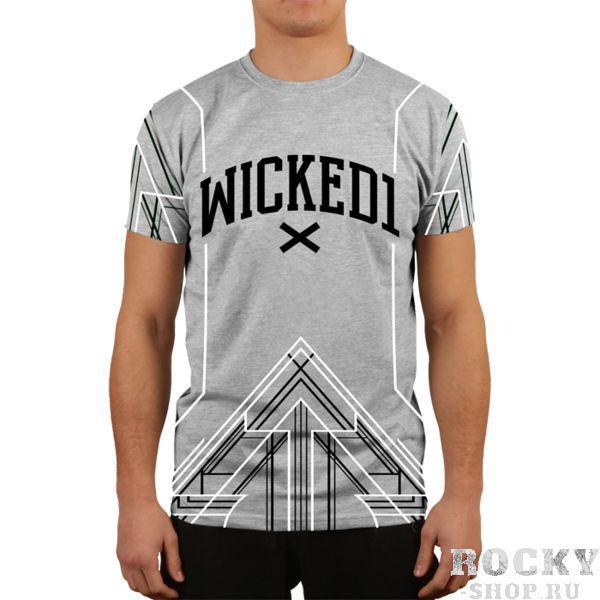 Футболка Wicked One Kheops Grey Wicked OneФутболки<br>Футболка Wicked One Kheops Grey. - Хлопок 200 грамм. Уход: машинная стирка, не отбеливать, деликатный отжим. Состав: 100% хлопок.<br><br>Размер INT: XL