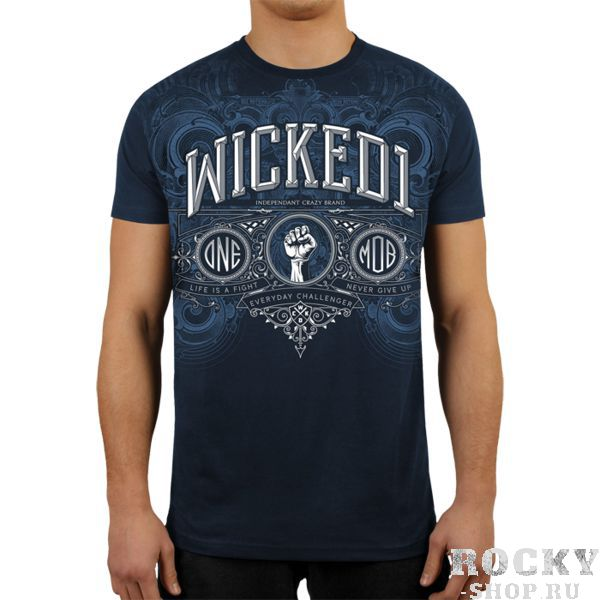 Футболка Wicked One Premium Wicked OneФутболки / Майки / Поло<br>Футболка Wicked One Premium. - Хлопок 200 грамм. Уход: машинная стирка, не отбеливать, деликатный отжим. Состав: 100% хлопок.<br><br>Размер INT: S