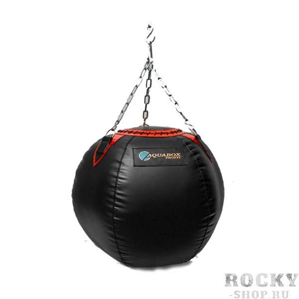 Груша боксерская TOTALBOX шар, 45 кг AquaboxСнаряды для бокса<br>ПВХ ткань (имп. пр-во);цвет: чёрный;высота - 75 см;диаметр - 25/62/25 см;вес - 45 кг<br>Снаряд изготовлен из ткани ПВХ, которая отличается износостойкостью и особой прочностью, способствуя увеличения срока эксплуатации. Специальная набивка состоит из резиновых гранул и текстильного волокна, защищая изделие от деформаций и придавая ему оптимальный уровень жесткости.<br>