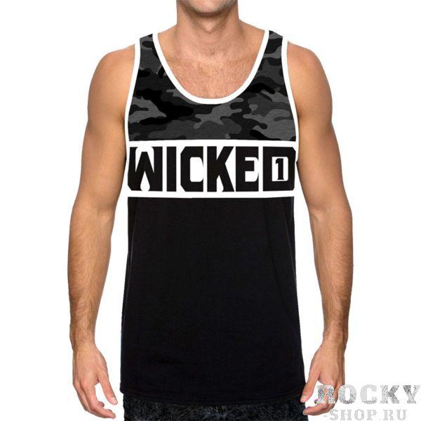Майка Wicked One Dope Wicked OneМайки<br>Майка Wicked One Dope. Уход: машинная стирка, не отбеливать, деликатный отжим. Состав: 100% хлопок.<br><br>Размер INT: L