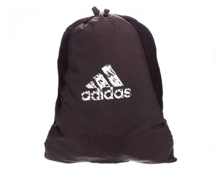 Мешок для обуви и одежды Backpack Laundry Bag черный AdidasСпортивные сумки и рюкзаки<br>Удобный и вместительный мешок для спортивной экипировки или обуви.<br>