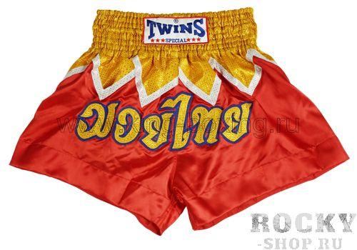 Шорты для тайского бокса TBS-24 Twins Twins SpecialШорты для тайского бокса/кикбоксинга<br>Шорты для тайского бокса из блестящего атласного полиэстера. Широкая резинка в поясе + шнур. Специфический покрой юбкой. Традиционная тайская символика (аппликация). Изделия из 100% полиэстера:-очень прочные и износостойкие;- легкие, хорошо сохраняют форму;- мало мнутся;- быстро сохнут.<br><br>Размер INT: M