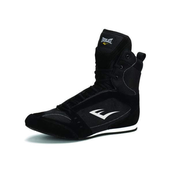Боксерки Everlast High-Top Competition, Черные Everlast