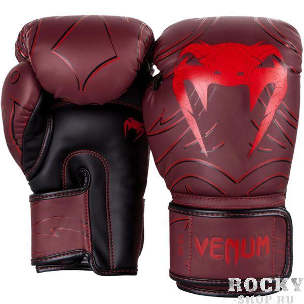 Боксерские перчатки Venum Nightcrawler Red, 12 oz VenumБоксерские перчатки<br>Боксерские перчатки Venum Nightcrawler. Отлично защищают руку! Очень хорошо сидят на руке. Широкая застежка обеспечивает надежную фиксацию перчаток Venum на запястье. Внутренний наполнитель - пена, которая обеспечивает хорошую амортизацию удара. Внешняя часть перчаток выполнена из искусственного современного материала Semi Leather. Сделано в Тайланде.<br>