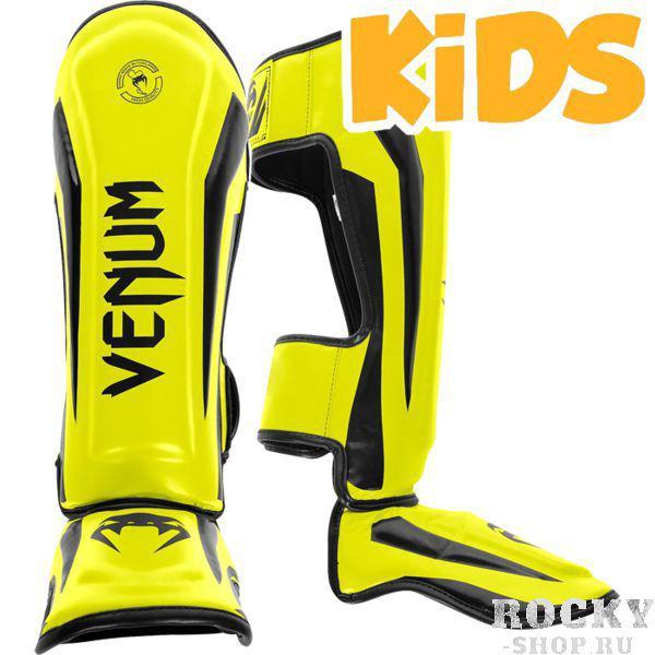 Купить Детские шингарды Venum Elite, yellow black venbprshin056 (арт. 17920)