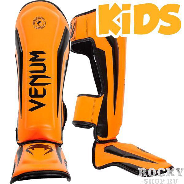 Купить Детские шингарды Venum Elite, orange black venbprshin057 (арт. 17921)