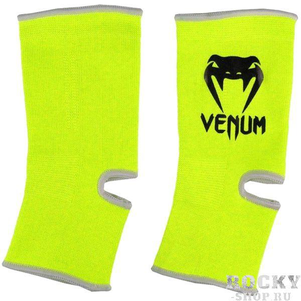 Голеностопы Venum, Желтый VenumЗащита тела<br>Голеностопы Venum. Защита для ваших лодыжек. Размер: универсальный. Отлично сидит и при занятиях тайским боксом, и MMA. Продаются парой.<br>