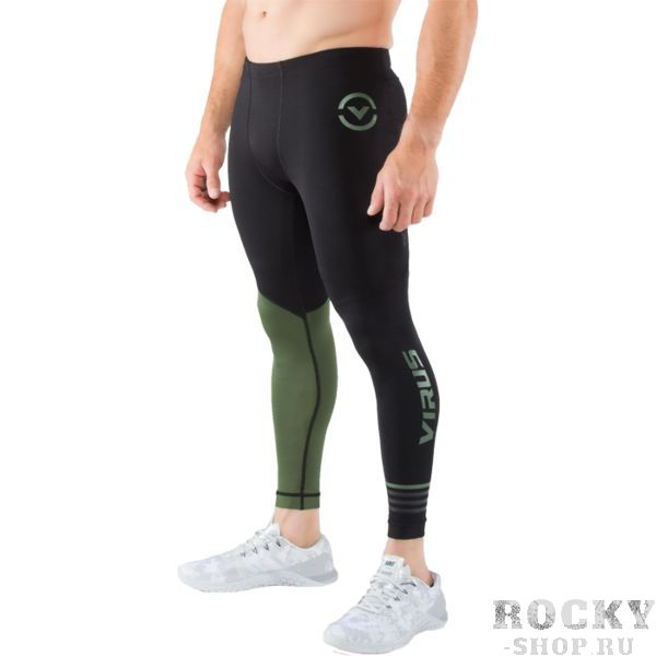 Компрессионные штаны Virus Stay Cool RX8 VirusКомпрессионные штаны / шорты<br>Компрессионные штаны Virus Stay Cool RX8. Леггинсы Virus Stay Cool RX8. Особая форма штанов распределяет давление равномерно на все части ног, что поддерживает все ваши мышцы в тонусе на протяжении тренировки! Миллионы микроканальцев и ткань с добавлением нефрита обеспечивают комфортную температуру и умеренную влажность вашего тела. COOL JADE – это технология, созданная для того, чтобы снизить температуру кожной поверхности при наиболее высоких температурах. Результат применения этой технологии – снижение температуры тела примерно на 2 градуса. Все дело в использовании стружки нефрита! Этот минерал используется в ювелирном деле уже несколько веков и не наносит ни малейшего вреда коже. Могут использоваться как под одеждой, так и без нее. Хорошо подходят для тренировок в зале и для уличных тренировок. Предназначены для занятий самыми различными единоборствами, кроссфитом, фитнесом, железным спортом и т. д. . Уход: машинная стирка в холодной воде, деликатный отжим, не отбеливать.<br><br>Размер INT: XS