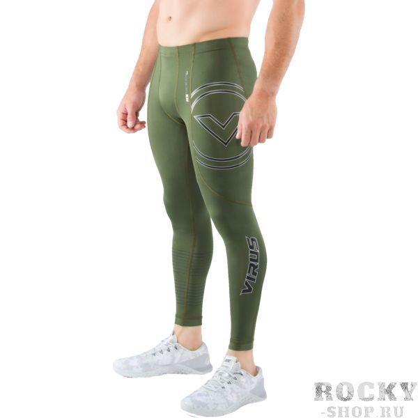 Компрессионные штаны Virus Stay Cool RX7-V3 VirusКомпрессионные штаны / шорты<br>Компрессионные штаны Virus Stay Cool RX7-V3. Специальная серия для грэпплинга с использованием более прочных материалов! Особая форма штанов распределяет давление равномерно на все части ног, что поддерживает все ваши мышцы в тонусе на протяжении тренировки! Миллионы микроканальцев и ткань с добавлением нефрита обеспечивают комфортную температуру и умеренную влажность вашего тела. COOL JADE – это технология, созданная для того, чтобы снизить температуру кожной поверхности при наиболее высоких температурах. Результат применения этой технологии – снижение температуры тела примерно на 2 градуса. Все дело в использовании стружки нефрита! Этот минерал используется в ювелирном деле уже несколько веков и не наносит ни малейшего вреда коже. Могут использоваться как под одеждой, так и без нее. Хорошо подходят для тренировок в зале и для уличных тренировок. Предназначены для занятий самыми различными единоборствами, кроссфитом, фитнесом, железным спортом и т. д. . Уход: машинная стирка в холодной воде, деликатный отжим, не отбеливать.<br><br>Размер INT: L