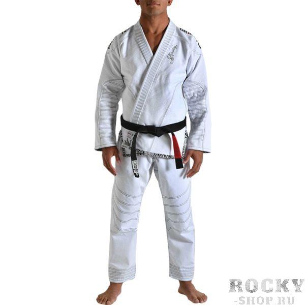 Кимоно для бжж Grips Armadura, белое Grips AthleticsЭкипировка для Джиу-джитсу<br>Кимоно для BJJ (бразильское джиу-джитсу) Grips Athletics Armadura. Ги Grips - это новый шаг в производстве экипировки для БЖЖ. Сшито кимоно по новейшим лекалам. За счёт этого куртка садится плотнее. Новейшая разработка для увеличения комфорта - вставка внутри куртки из перфорированной синтетической ткани. Этот дополнительный сегмент отводит пот от тела и при этом мешает ему проникнуть вглубь хлопковой материи кимоно. Это ги можно описать двумя словами: качество и стиль. Gr1ps Athletics всегда старается снабдить свою продукцию фирменными элементами: эластичные шнурки, отстрочка, вышивка и дополнительные вставки. Все эти составляющие качественно отличают творения итальянского производителя Grips Athletics от других изготовителей. За счёт наилучшего качества хлопка это кимоно является оптимальным выбором для любителей бразильского джиу-джитсу. - Тип плетения куртки: Pearl Weave. - В области колен штаны дополнительно укреплены. - Воротник, наполнен пеной EVA для более быстрого высыхания и комфорта. - Высочайшее качество вышивки. Подойдет и для ежедневных тренировок и для соревнований. Ги сделано из цельного куска ткани (без швов на спине)! Штаны на шнурке; на поясе - допонительные петли для того, чтобы шнурок держал штаны прочно; Данное ги подойдет и для новичков, и для мастеров. При стирке в горячей воде возможна усадка порядка 5%. Стирать ги рекомендуется в мягкой воде до 30 градусов без отбеливателя. Состав куртки: 100% хлопок высокого качества. Состав штанов: 100% CVC-рипстоп. Пояс в комплек не входит.<br><br>Размер: A0