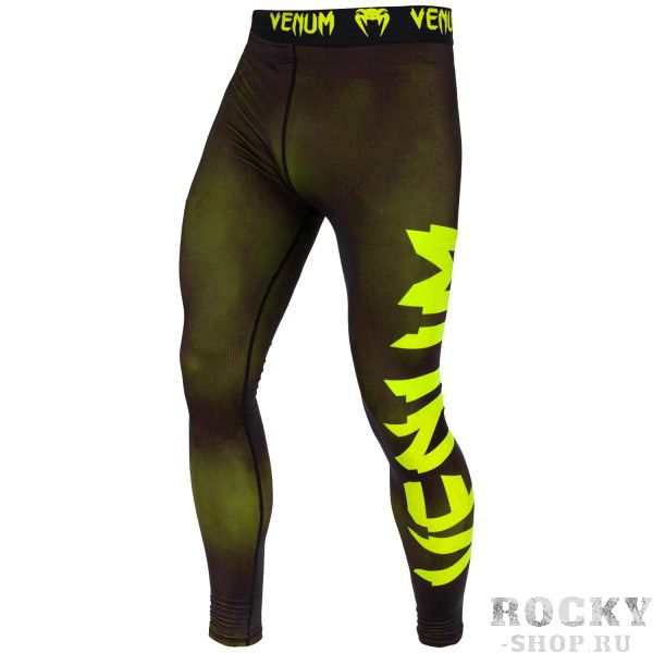 Компрессионные штаны Venum Giant Black/Yellow VenumКомпрессионные штаны / шорты<br>Испытайте компрессионные штаны Venum Giant - Black/Yellow, и Вы получите достойную компрессию и поддержку мышц . Обеспечат максимальную производительность, сохраняя тепло тела до, во время и после тренировки. Компрессионная технология в совокупности с анатомическим дизайном, позволяет этим штанам обтекать ваше тело, поддерживая Ваши группы мыщц, что делает их идеальным базовым слоем. Сделаны из ультра-легкой ткани Dry Tech, которая с легкостью выводит влагу, даже во время очень жарких тренировок. Особенности:- компрессионная технология Venum: создает зону оптимального давления на мышцы, что заставит дольше тренироваться и позволит быстрее восстанавливаться- ткань тянется в 4х направлениях: гарантирует полный диапазон движений- технология Dry Tech: выводит влагу, оставляя Вас сухим- эргономичные швы и комфортный пояс на талии- супер-мягкий и прочный материал для непревзойденного комфорта<br><br>Размер INT: L