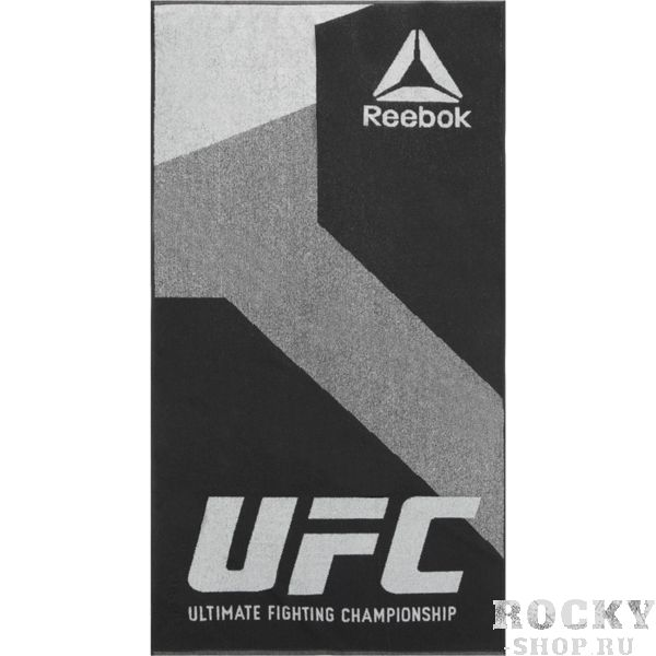 Полотенце Reebok UFC Ultimate Fan ReebokПолотенца<br>Полотенце Reebok UFC Ultimate Fan. Большое логотип UFC. качественный хлопок. Неотъемлемая вещь для вашей тренировочной сумки. размеры: 70 х 140 см. внимание: первым использованием необходимо простирать!<br>