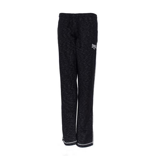 Спортивные штаны Everlast Gym, Черные EverlastСпортивные штаны и шорты<br>Спортивные штаны Everlast Gym Black. Штаны отлично подойдут и для тренировок, и в качестве прогулочного варианта. На бедрах штаны удерживаются с помощью резинки и шнурка, спрятанного в пояс. Два боковых кармана. Уход: Машинная стирка в холодной воде, деликатный отжим, не отбеливать!Состав: 78% хлопок, 22% полиэстер.<br><br>Размер INT: M