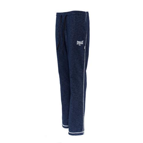 Спортивные штаны Everlast Gym, Синие EverlastСпортивные штаны и шорты<br>Спортивные штаны Everlast Gym Navy. Штаны отлично подойдут и для тренировок, и в качестве прогулочного варианта. На бедрах штаны удерживаются с помощью резинки и шнурка, спрятанного в пояс. Два боковых кармана. Уход: Машинная стирка в холодной воде, деликатный отжим, не отбеливать!Состав: 78% хлопок, 22% полиэстер.<br><br>Размер INT: M