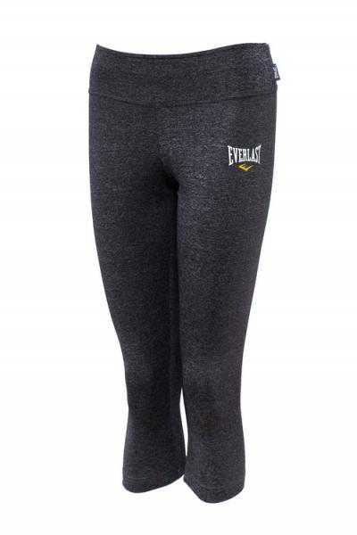 Леггинсы женские Everlast Composite EverlastКомпрессионные штаны / шорты<br>Леггинсы от спортивного бренда Everlast выполнены из гладкого трикотажа. Детали: эластичный пояс, меланж.<br><br>Размер INT: M