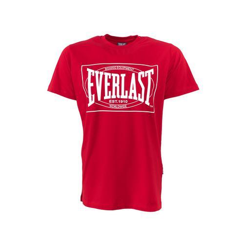 Футболка Everlast Choice of Champions, Красная EverlastФутболки<br>Футболка Everlasr Choice of Champions. Классика боксёрского бренда Everlast. Состав: 92% хлопок, 8% лайкра.<br><br>Размер INT: L